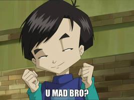 Hiroki - U mad bro? by mollymolata