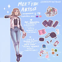 Meet the artist by FrederikkeFrode