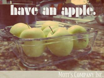 Have an Apple. by henrymaxm