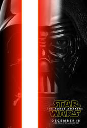 Darth Vader + Kylo Ren Character Poster by henrymaxm