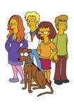 Scooby Doo Simpsons