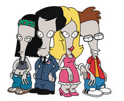 The Roger Smith Family by Ulla-Andy