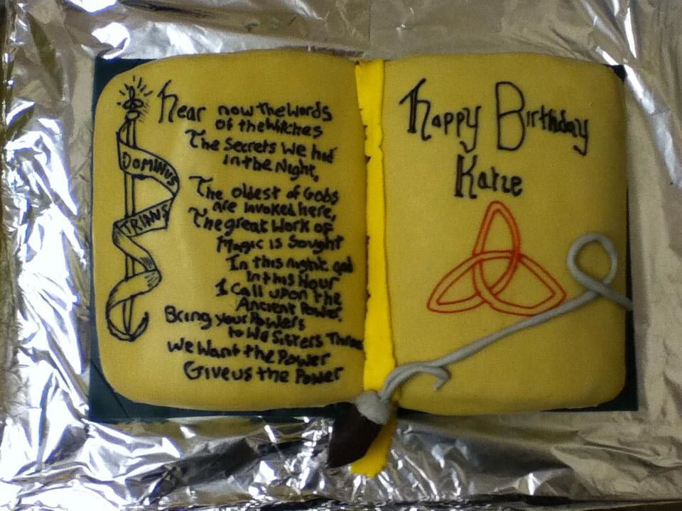 Charmed Cake By Ulla Andy On Deviantart