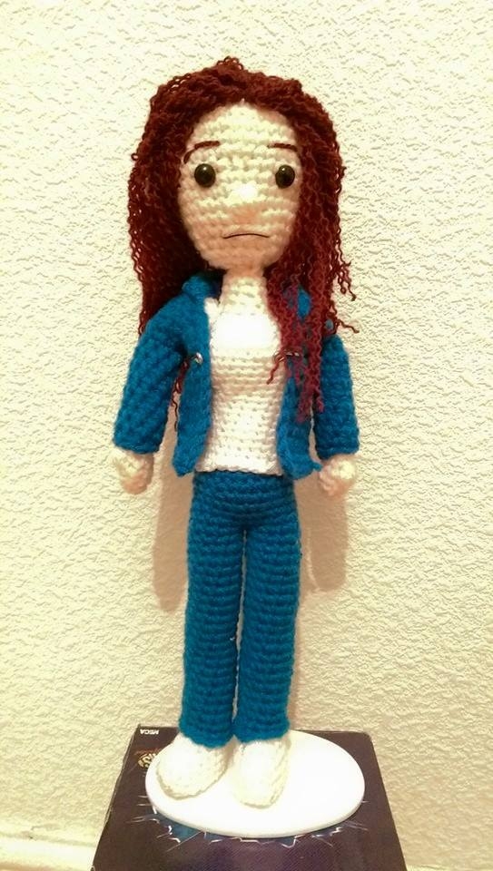 Bea Smith Amigurumi by Ulla-Andy