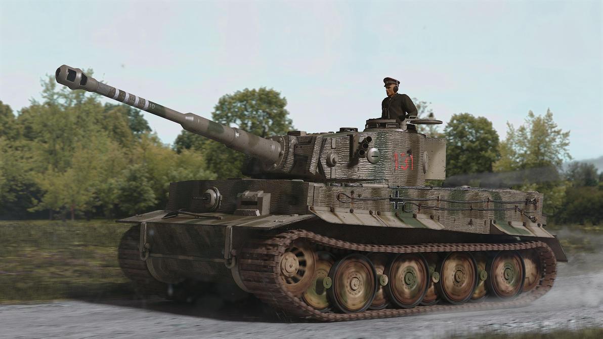 Tiger Tank by MrHeinzelnisse