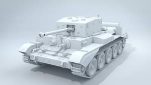British Cromwell tank WIP