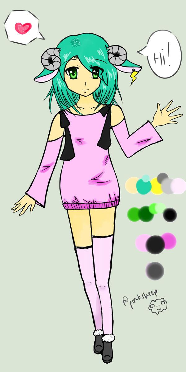 Sheep Persona: Hikari by pinksheepyunnie