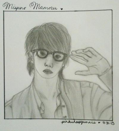 Realism Practice .::. Miyano Pose by pinksheepyunnie