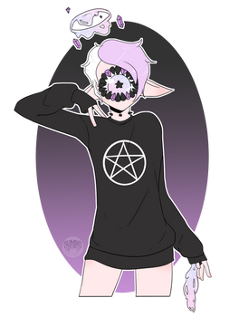YCH | Sweater - Peace Alt