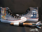 11th Doctor's TARDIS Shoes