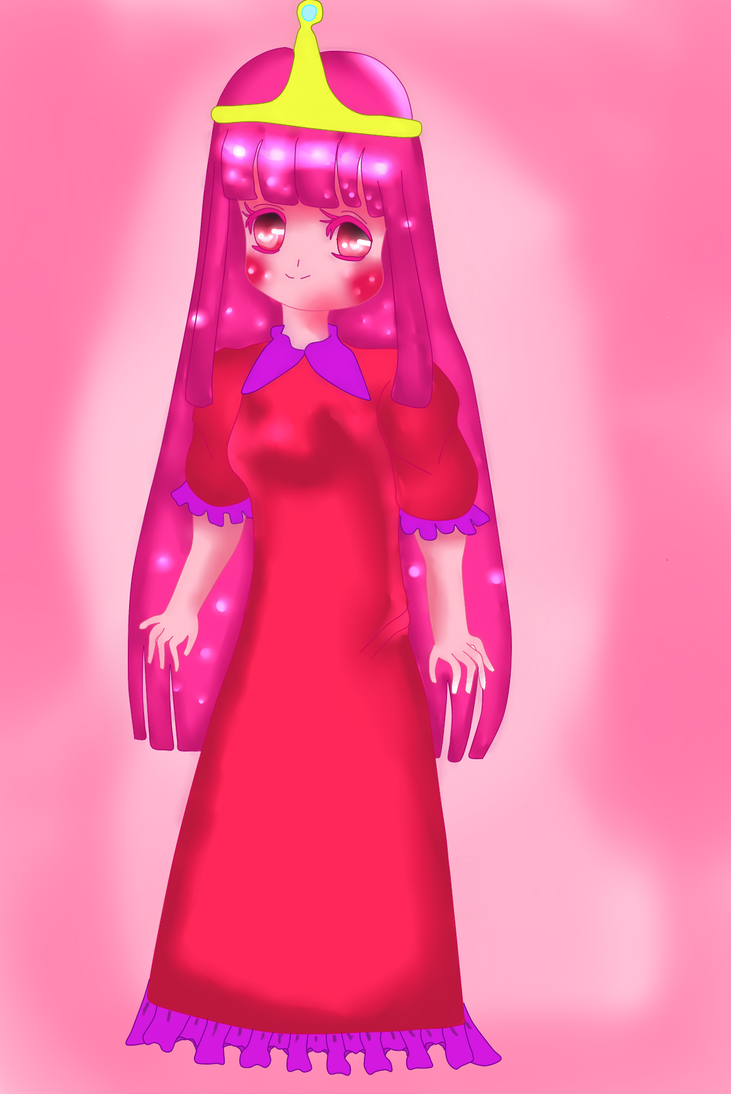 princess bubblegum by yumethenekomata