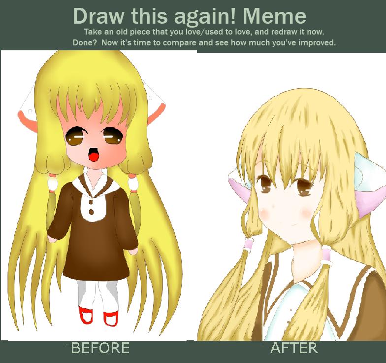 improvement meme by yumethenekomata
