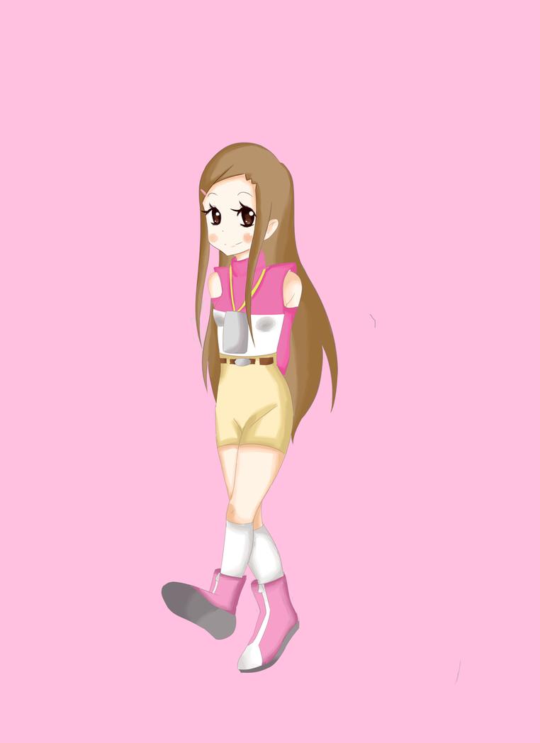 long haired hikari 02 version by yumethenekomata