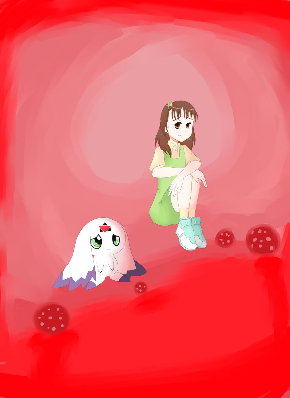 juri and culumon in d-reaper by yumethenekomata