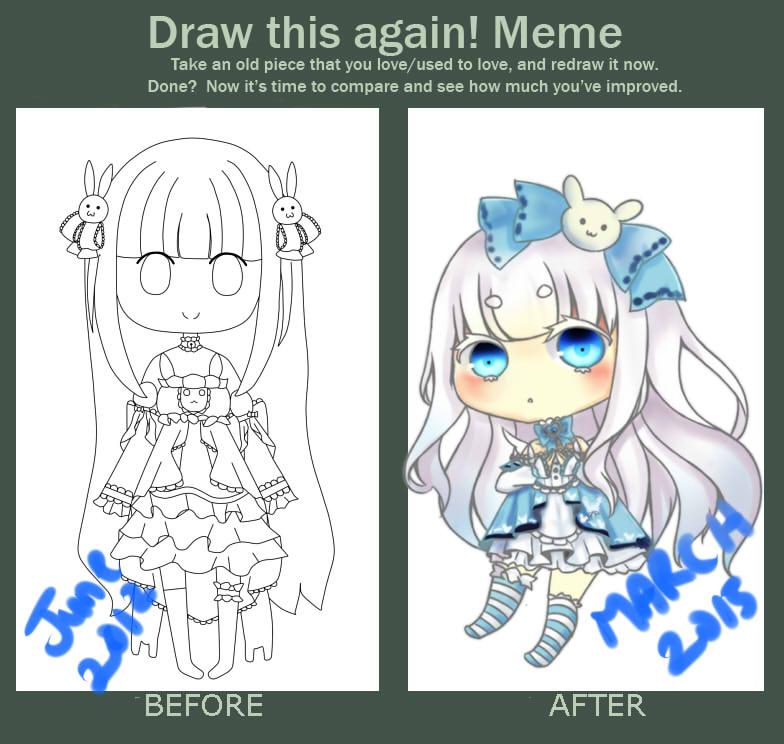 Draw This Again Meme~Yuki by pandaloverOAO