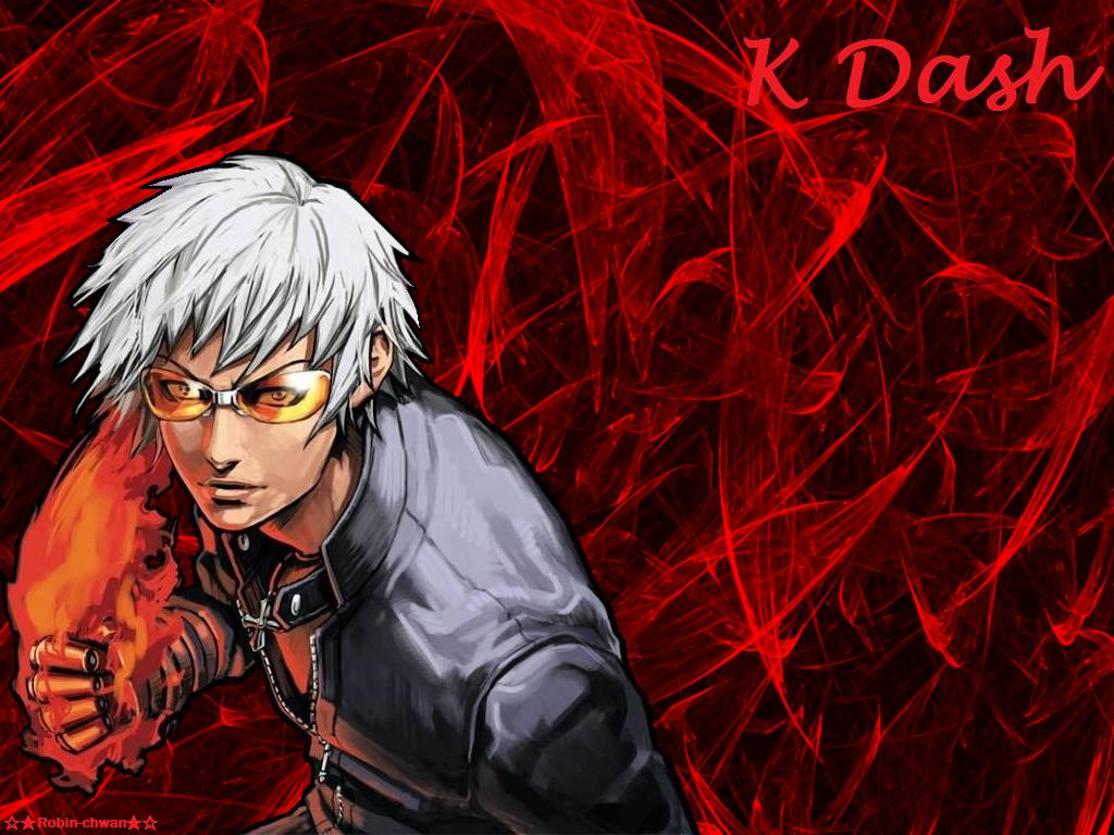 K Dash King Of Fighters By Robin Chwan On Deviantart