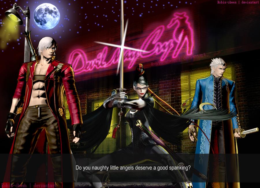 Dante Bayo and Verg by Robin-chwan