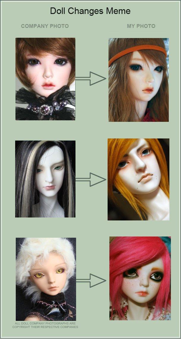 UPDATED Doll Change MEME by PlagueBearerBJD