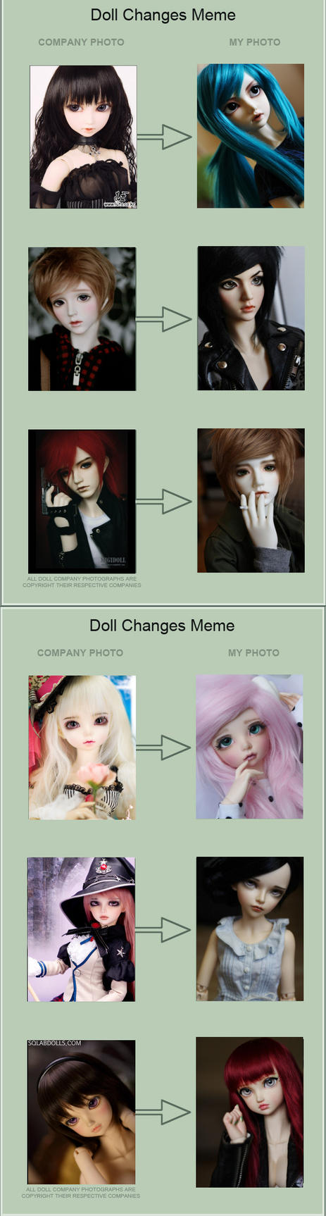 Bjd Change meme thing by PlagueBearerBJD