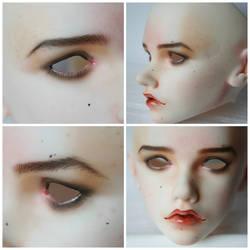 Faceup Leekeworld Mihael by PlagueBearerBJD