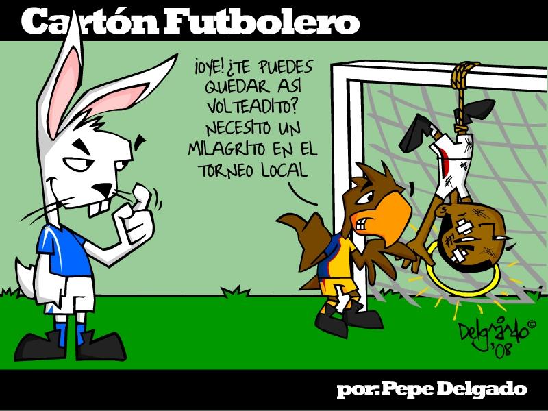 Carton Futbolero 080314 by PepeDelgado