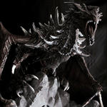 Alduin, the World Eater by Na7s