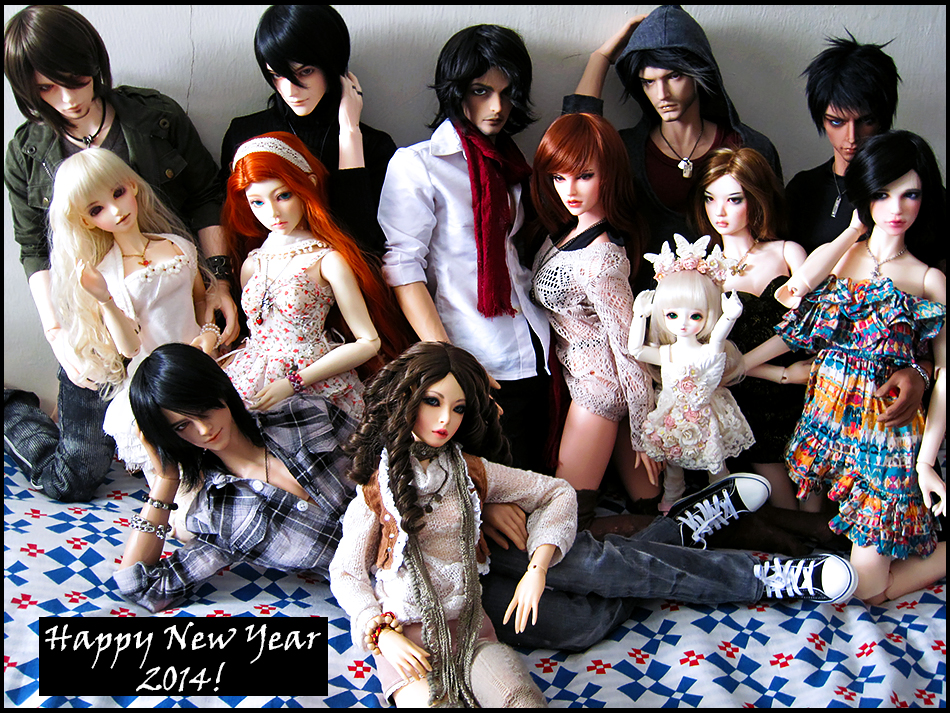 Welcome 2014 by Na7s