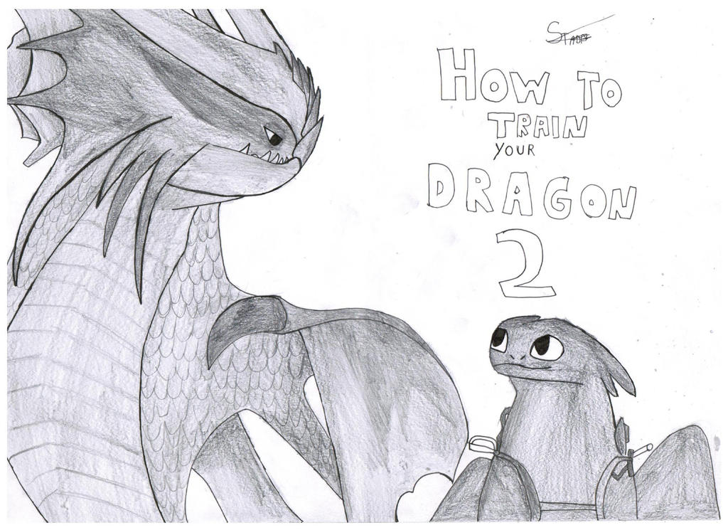 How to train your dragon 2 by StadesDrawing on DeviantArt