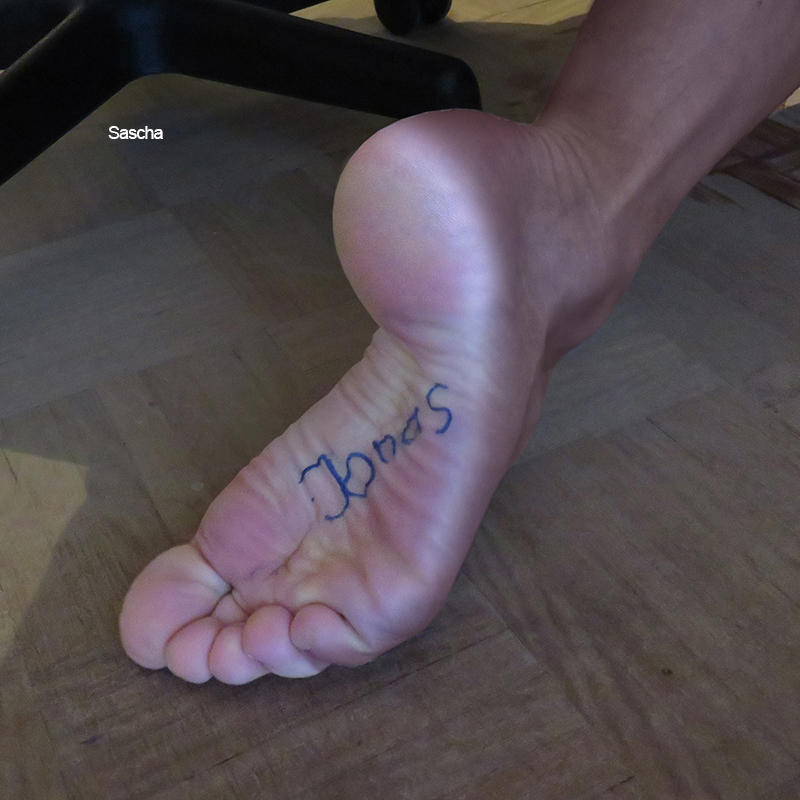 SASCHA FEET - Xtremely high arched soles