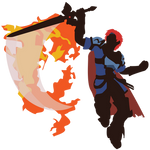 Roy (Smash 4, Default Costume) - Sunset Shores