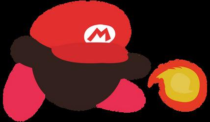 Mario (Kirby Hat) - Sunset Shores