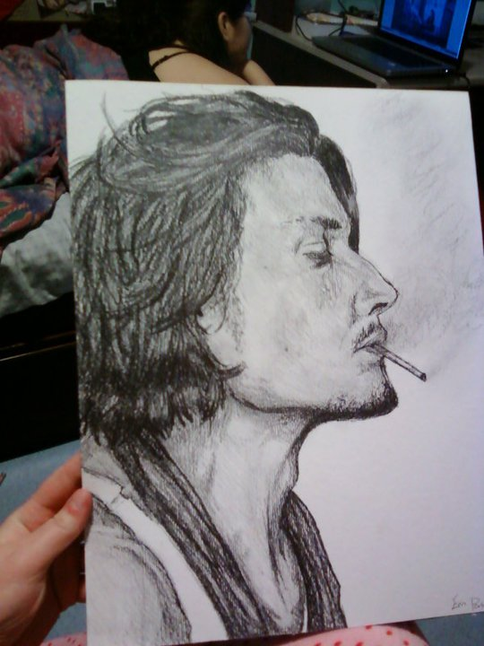 Johnny Depp by SilverEyes-chan