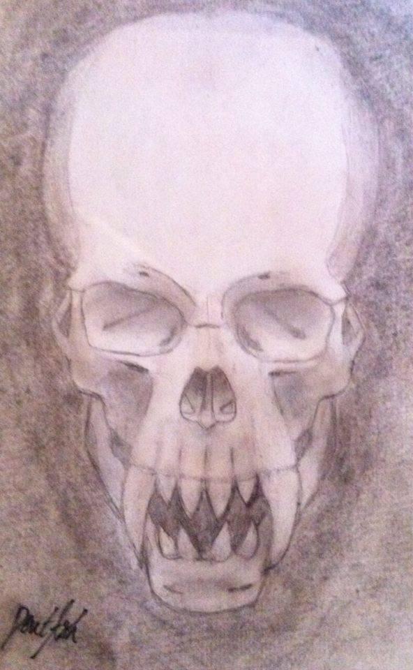 Unusual Skull 2 by DentAsh by DentAsh
