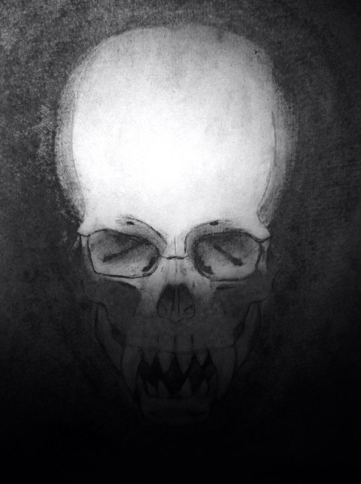 Unusual Skull 3 by DentAsh by DentAsh