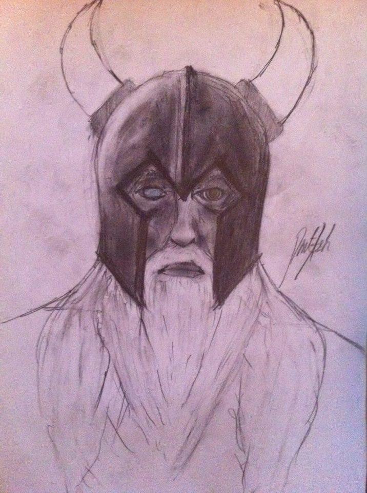 Odin doodle by DentAsh by DentAsh