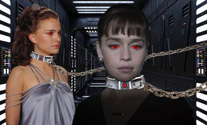 Padme and Qi'ra: Mind Control Collars by Renegade555