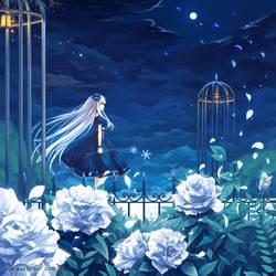 Winter Girl by coumori