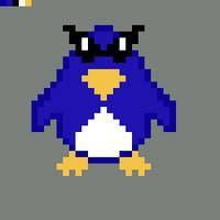 Cool penguin by Yoyodan