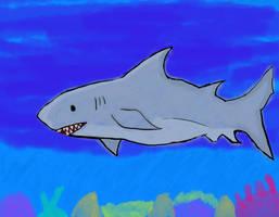 Shark by Yoyodan