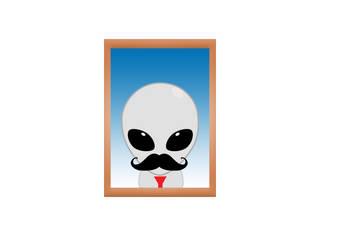 Alien Manger by Yoyodan
