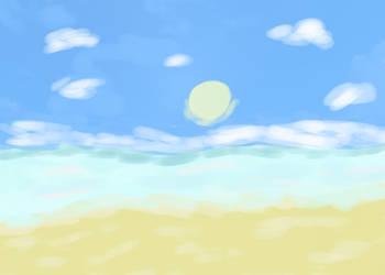 Beach by Yoyodan