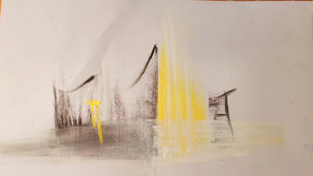 architecture sketch #4 (Berliner Philharmonie) by solidg on DeviantArt
