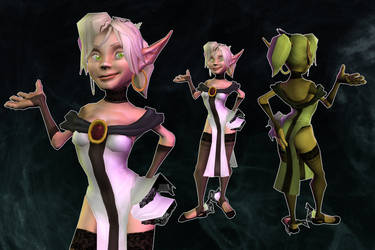 Illurie 3D Glamour Shots by Xhaztol