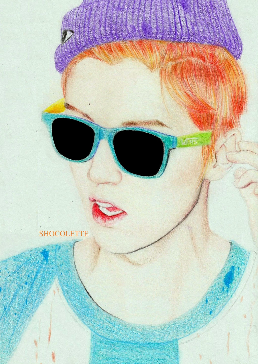 Growl Luhan by shocolette