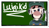 Luigikid Stamp by Shewolfie456