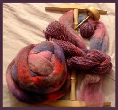 Life Stages of Purple Wool