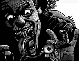Evil Clown by Tomoran