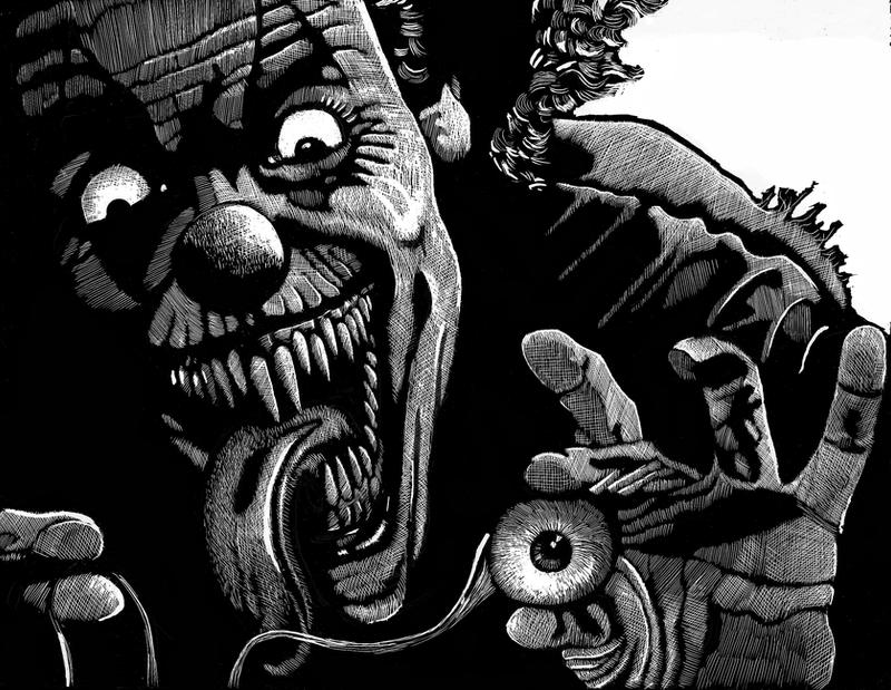 Evil Clown by Tomoran on DeviantArt