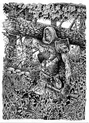 Frankenstein's Monster - The Stranger in the Woods