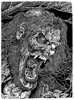 Frankenstein's Monster - Adam Enraged